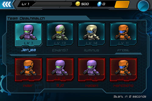 Actionspiele Call of Mini: Infinity für das Smartphone