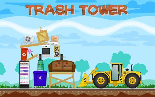 Скриншот Trash tower на андроид
