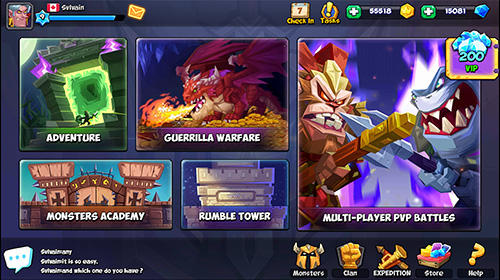 Tactical monsters: Rumble arena für Android