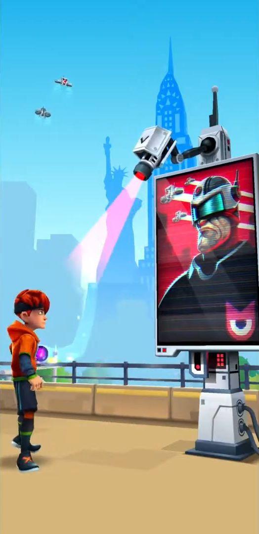 MetroLand - Endless Arcade Runner screenshot 1