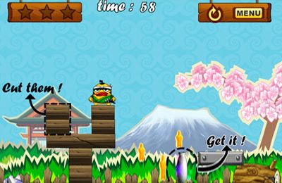 Screenshot Bonus Samurai on iPhone