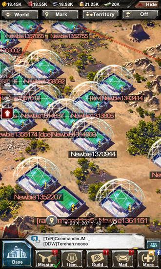 Invasion: Online War Game para Android