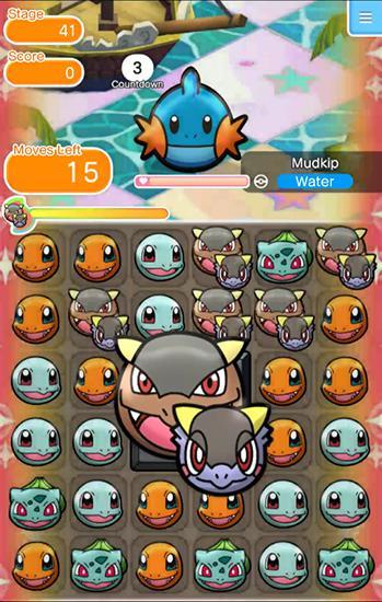 Pokemon shuffle mobile для Android
