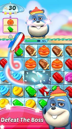 Arcade Ice cream paradise: Match 3 für das Smartphone