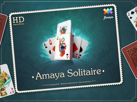 logo Amaya Solitaire: Spider, Klondike, Free Cell