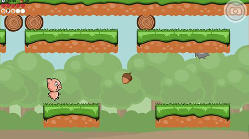 Arcades Crisp bacon: Run pig run pour smartphone
