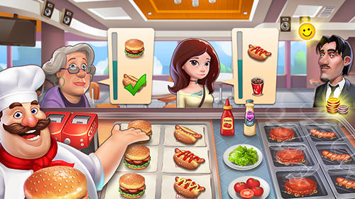 Happy cooking: Chef fever para Android