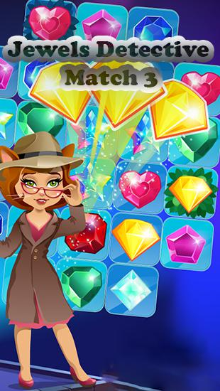 Jewels detective: Match 3 Screenshot
