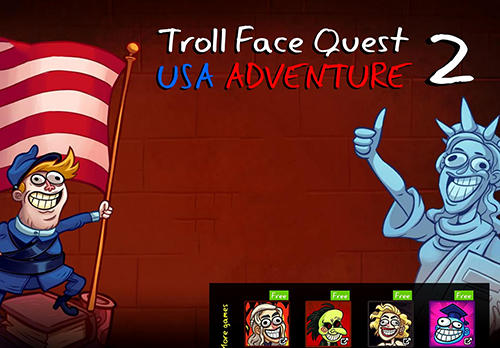 Troll face quest: USA adventure 2 скриншот 1