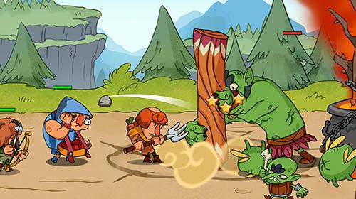 RPG Semi heroes: Idle RPG für das Smartphone