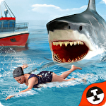 Shark shark run icon