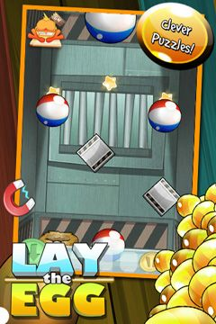 Lay the Egg – Epic Egg Rescue Experiment Saga for iPhone