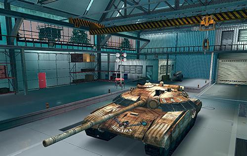 Shooter Armada: World of modern tanks auf Deutsch