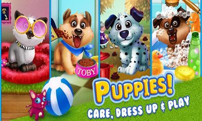 Simulation Puppy Dog Dress Up & Care für das Smartphone