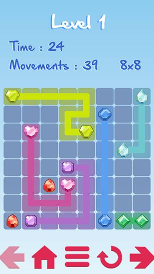 Puzzle games Lines in English