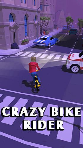 Crazy bike rider Screenshot