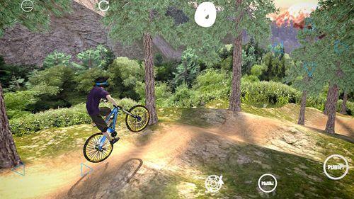 ¡Shred! Bicicleta de montaña extrema para iPhone gratis