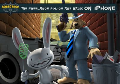 Sam & Max Beyond Time and Space. Episode 1.  Ice Station Santa in Russian