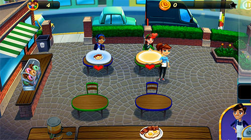 Diner dash adventures Screenshot