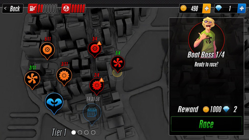Arcade-Spiele: Lade Touch Rennen 2 auf dein Handy herunter