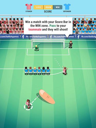 Tiny striker: World football Screenshot