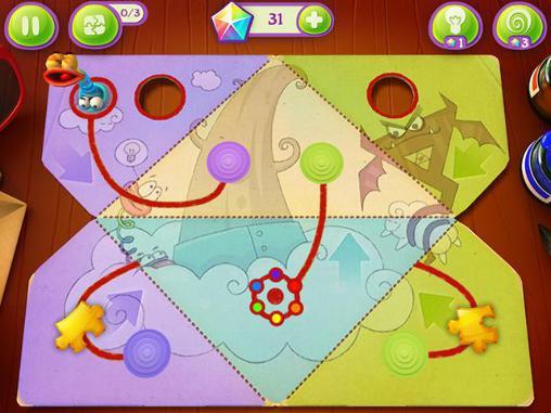 Arcade-Spiele Fold the world für das Smartphone