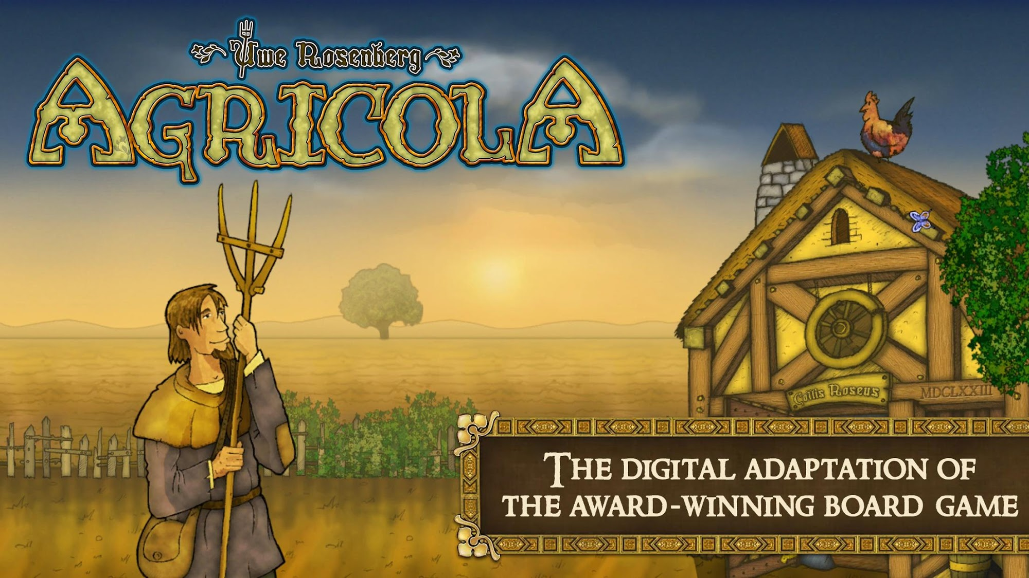 Agricola Revised Edition - Farming & Strategy captura de tela 1