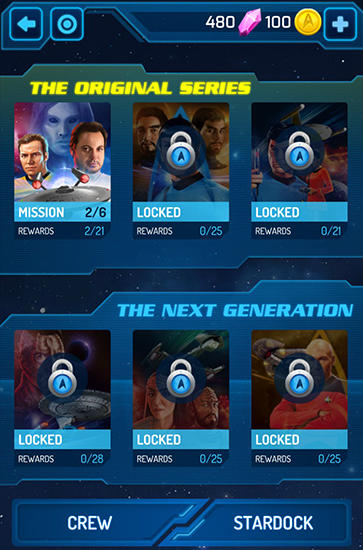 Star trek: Wrath of gems Screenshot