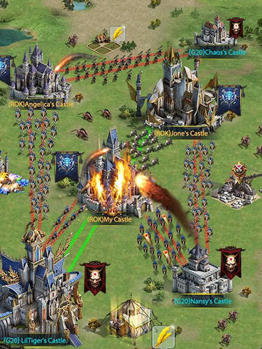 Online Rise of the kings für das Smartphone