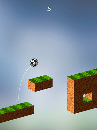 Jumpy football für Android