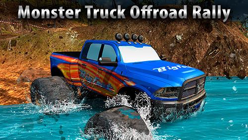 Monster truck offroad rally 3D Screenshot