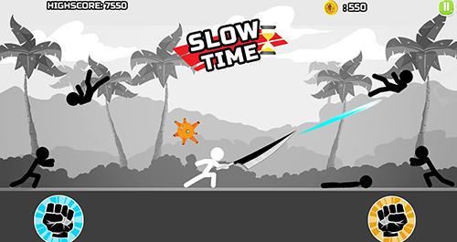 Stickman fighter epic battle 2 für Android