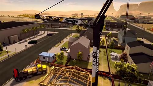 Simulation Construction simulator 3 für das Smartphone