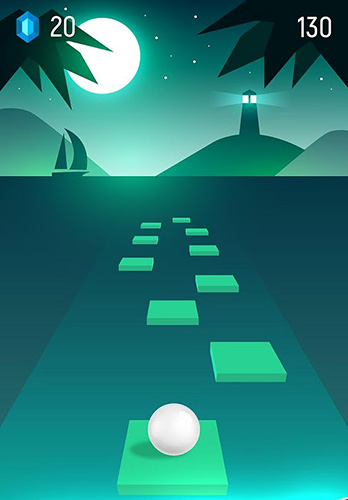 Beat hopper: Bounce ball to the rhythm for Android
