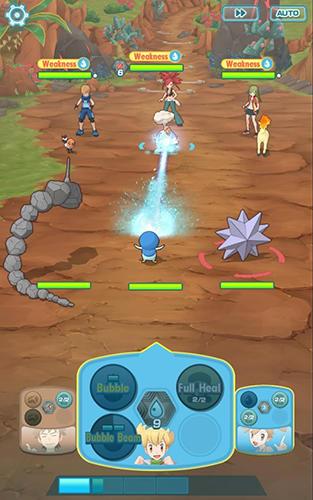 Pokemon masters для Android