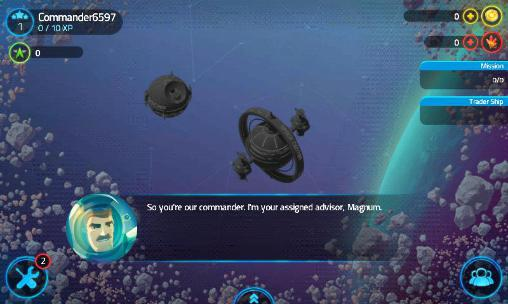 Онлайн игры: скачать Merchants of space на телефон