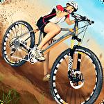 AEN downhill mountain biking Symbol