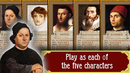 Plague: The black death. Renaissance strategy game