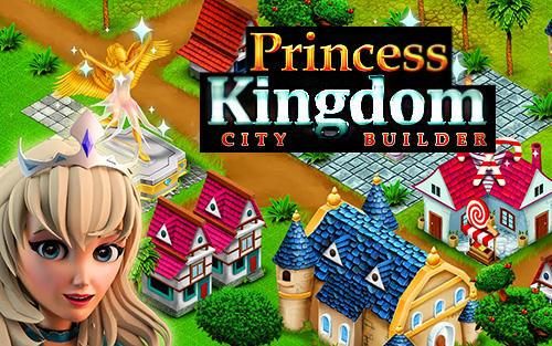 Princess kingdom city builder ícone