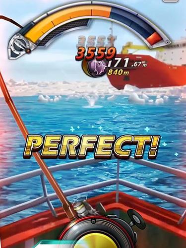 Arcades Tour de pêche: Pêchez un grand poisson! pour smartphone