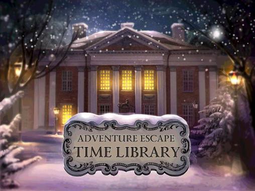 Adventure escape: Time library Screenshot