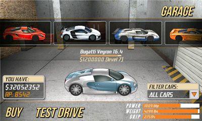 Drag Racing captura de pantalla 1