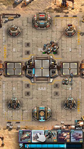Online Warzone: Clash of generals für das Smartphone