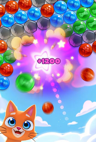 Pet paradise: Bubble shooter pour Android