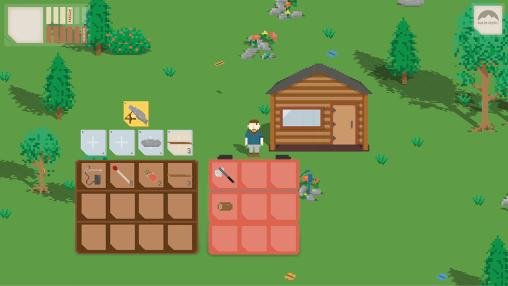 Pixel On my own: Woodland survival adventure auf Deutsch