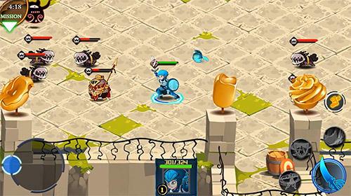 Strategische RPG-Spiele Legend guardians: Mighty heroes. Action RPG auf Deutsch