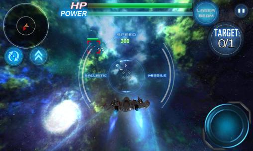Galaxy war: Star space fighters Screenshot