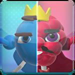 Fruitopia: Blueberry vs. raspberry Symbol