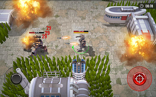 Robots battle arena: Mech shooter для Android