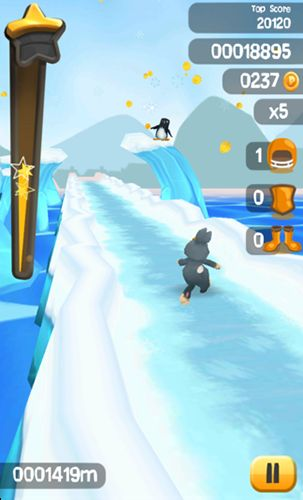 Easter bunny run Screenshot